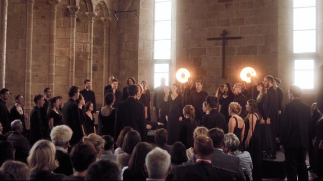 Choeur Mikrokosmos (Festival Via Aeterna, Mont-Saint-Michel, 2017)